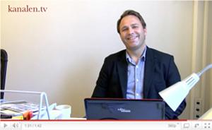 kanalen.tv möter... Johan Wiklund - webb-tv-inlägg