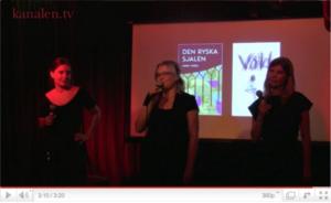 kanalen.tv besöker... bokförlaget Aglaktuqs releasefest med litterär salong del 2 - videoinslag, webb-tv