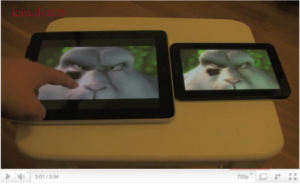 kanalen.tv testar... iPad vs Samsung Galaxy tab för video/film och webb-tv/online video